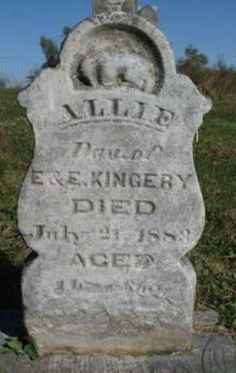 KINGERY, ALICE C. (ALLIE) - Madison County, Iowa | ALICE C. (ALLIE) KINGERY