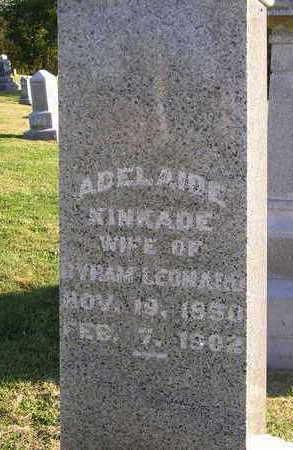 KINKADE LEONARD, ADELINE C. - Madison County, Iowa | ADELINE C. KINKADE LEONARD