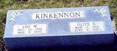 KINKENNON, WILLIAM LEO - Madison County, Iowa | WILLIAM LEO KINKENNON