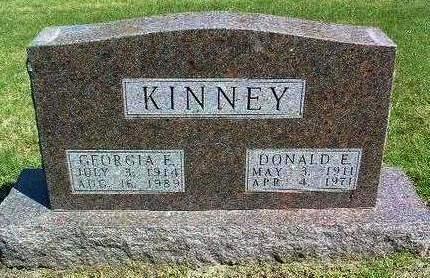 KINNEY, GEORGIA ELIZABETH - Madison County, Iowa | GEORGIA ELIZABETH KINNEY