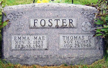 KIRK FOSTER, EMMA MAE - Madison County, Iowa | EMMA MAE KIRK FOSTER