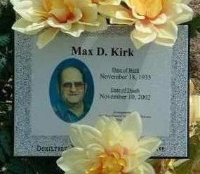 KIRK, MAX DEAN - Madison County, Iowa | MAX DEAN KIRK