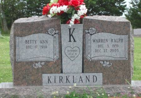 KIRKLAND, BETTY ANN - Madison County, Iowa | BETTY ANN KIRKLAND