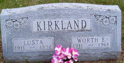 KIRKLAND, LUSTA - Madison County, Iowa | LUSTA KIRKLAND
