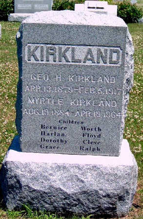 KIRKLAND, MYRTLE - Madison County, Iowa | MYRTLE KIRKLAND