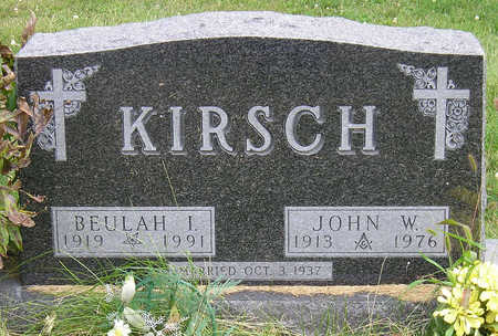 KIRSCH, JOHN WOODROW - Madison County, Iowa | JOHN WOODROW KIRSCH