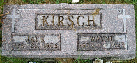 KIRSCH, JACK - Madison County, Iowa | JACK KIRSCH