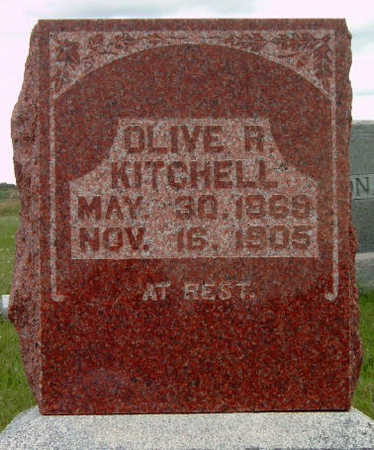 RINARD KITCHELL, OLIVE A. / R. - Madison County, Iowa | OLIVE A. / R. RINARD KITCHELL