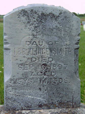 KLINGENSMITH, KATIE - Madison County, Iowa | KATIE KLINGENSMITH