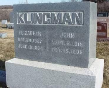 SIMS KLINGMAN, ELIZABETH CAMBRIDGE - Madison County, Iowa | ELIZABETH CAMBRIDGE SIMS KLINGMAN