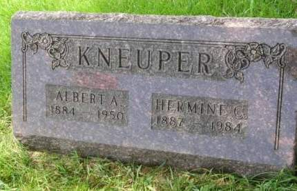 VANBUREN KNEUPER, HERMINA CHRISTINA - Madison County, Iowa | HERMINA CHRISTINA VANBUREN KNEUPER