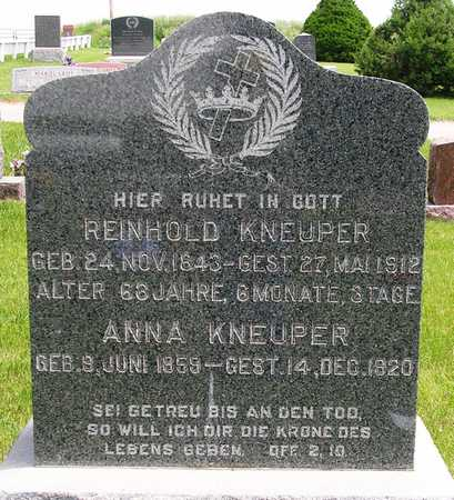 KNEUPER, REINHOLD - Madison County, Iowa | REINHOLD KNEUPER