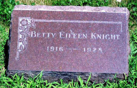 KNIGHT, BETTY EILEEN - Madison County, Iowa | BETTY EILEEN KNIGHT