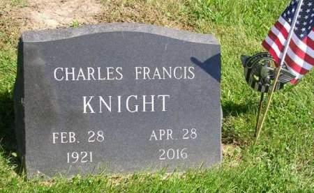 KNIGHT, CHARLES FRANCIS - Madison County, Iowa | CHARLES FRANCIS KNIGHT