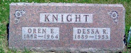 KNIGHT, OREN E. - Madison County, Iowa | OREN E. KNIGHT