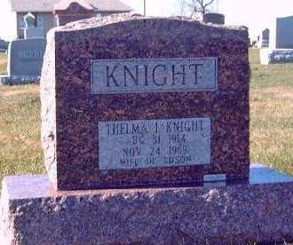 KNIGHT, THELMA I. - Madison County, Iowa | THELMA I. KNIGHT