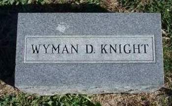 KNIGHT, WYMAN DALE - Madison County, Iowa | WYMAN DALE KNIGHT