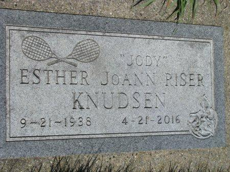 KNUDSEN, ESTHER JOANN (JODY) - Madison County, Iowa | ESTHER JOANN (JODY) KNUDSEN