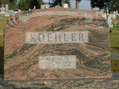 KOEHLER, ALBERT SELWYN - Madison County, Iowa | ALBERT SELWYN KOEHLER