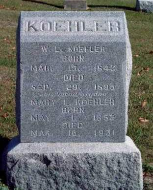 KOEHLER, MARY L. - Madison County, Iowa | MARY L. KOEHLER