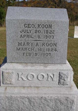 KOON, MARY ANNA - Madison County, Iowa | MARY ANNA KOON