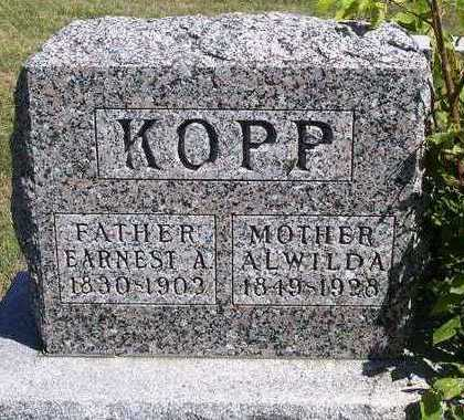 KOPP, ALWILDA - Madison County, Iowa | ALWILDA KOPP