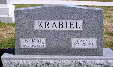 WINTRODE KRABIEL, MARY LUCY - Madison County, Iowa | MARY LUCY WINTRODE KRABIEL