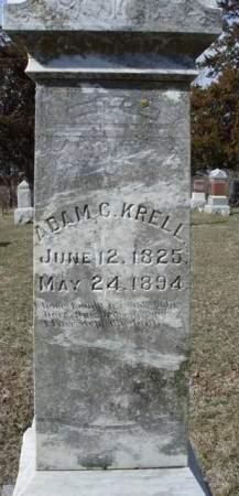 KRELL, JOHN ADAM CONRAD - Madison County, Iowa   JOHN ADAM CONRAD KRELL