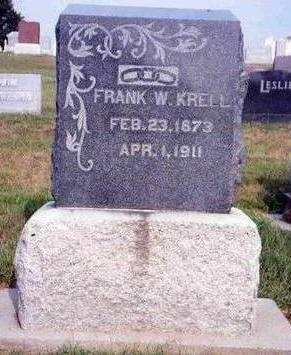KRELL, FRANKLIN W. (FRANK) - Madison County, Iowa | FRANKLIN W. (FRANK) KRELL