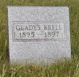 KRELL, ALTHA GLADYS - Madison County, Iowa | ALTHA GLADYS KRELL