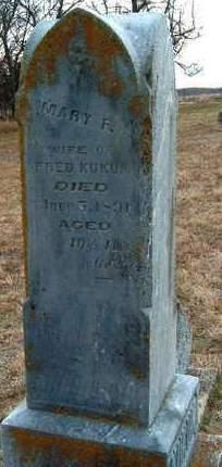 FREDERICK KUKUK, MARY FREDRIKA - Madison County, Iowa | MARY FREDRIKA FREDERICK KUKUK