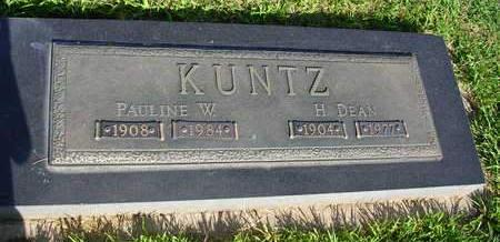 KUNTZ, PAULINE W. - Madison County, Iowa | PAULINE W. KUNTZ
