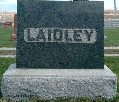 LAIDLEY, FAMILY STONE - Madison County, Iowa | FAMILY STONE LAIDLEY