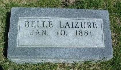 LAIZURE, BELLE - Madison County, Iowa | BELLE LAIZURE