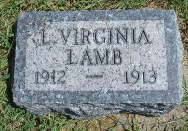 LAMB, LOTTIE VIRGINIA - Madison County, Iowa | LOTTIE VIRGINIA LAMB