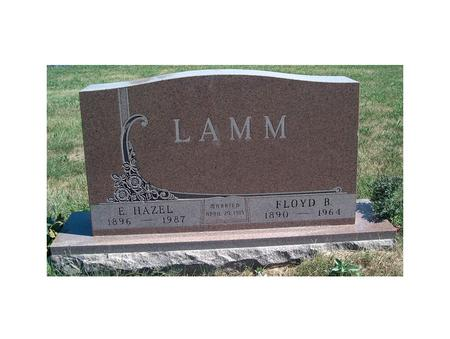 LAMM, ERMA HAZEL - Madison County, Iowa | ERMA HAZEL LAMM