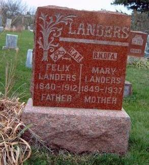 LYON LANDERS, MARY ANN - Madison County, Iowa | MARY ANN LYON LANDERS