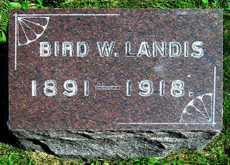 LANDIS, WILLIAM BIRD, JR. - Madison County, Iowa | WILLIAM BIRD, JR. LANDIS