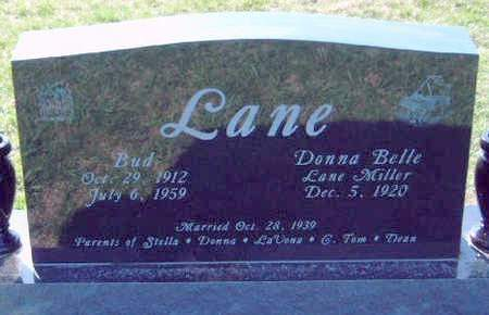 LANE, DONNA BELLE - Madison County, Iowa | DONNA BELLE LANE