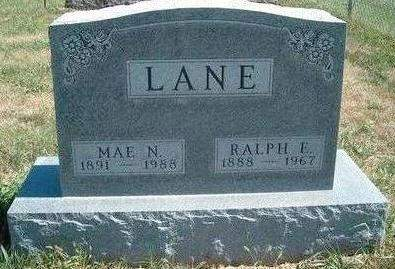 LANE, RALPH EUGENE - Madison County, Iowa | RALPH EUGENE LANE