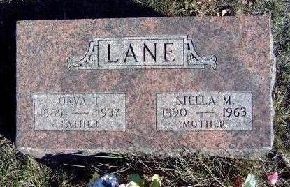 LANE, STELLA MAY - Madison County, Iowa | STELLA MAY LANE