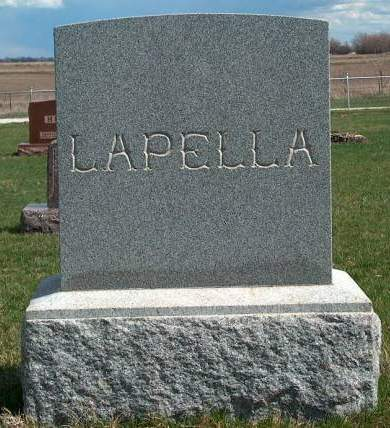 LAPELLA, FAMILY STONE - Madison County, Iowa | FAMILY STONE LAPELLA