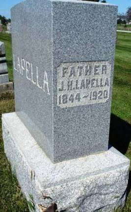 LAPELLA, JOHN H. - Madison County, Iowa | JOHN H. LAPELLA