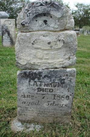 LATHRUM, FREDRICK GARFIELD - Madison County, Iowa | FREDRICK GARFIELD LATHRUM