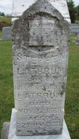 LATHRUM, STEPHEN - Madison County, Iowa | STEPHEN LATHRUM
