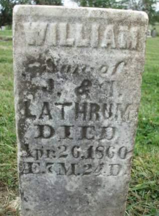 LATHRUM, WILLIAM - Madison County, Iowa | WILLIAM LATHRUM