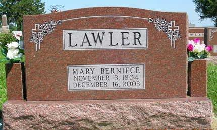 LAWLER, MARY BERNICE - Madison County, Iowa | MARY BERNICE LAWLER