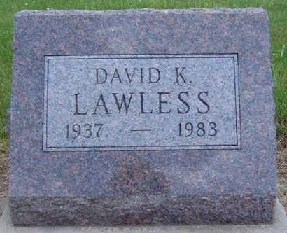 LAWLESS, DAVID K. - Madison County, Iowa | DAVID K. LAWLESS