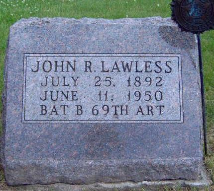 LAWLESS, JOHN R. - Madison County, Iowa | JOHN R. LAWLESS