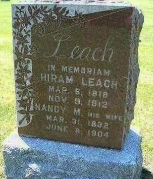 LEACH, NANCY M. - Madison County, Iowa | NANCY M. LEACH